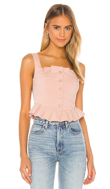 Aria Top Song of Style $128 NEW