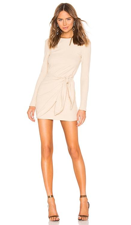 Dana Wrap Mini Dress superdown $66 BEST SELLER