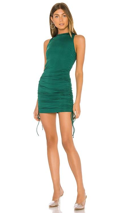 Cory Ruched Side Dress superdown $62 BEST SELLER