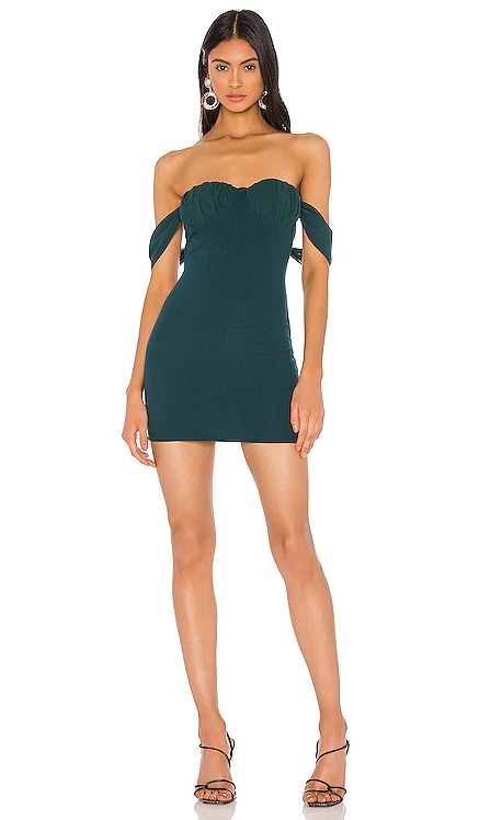 x Draya Michele Cailyn Off Shoulder Dress superdown $68