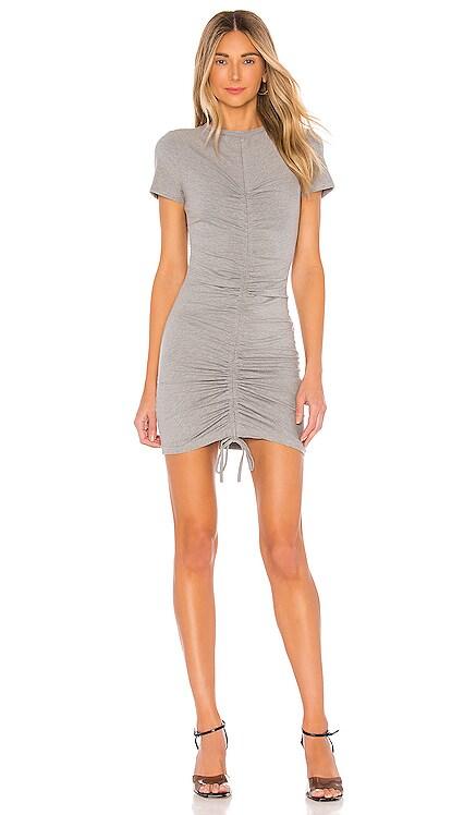 Yasmine Ruched Tie Dress superdown $64