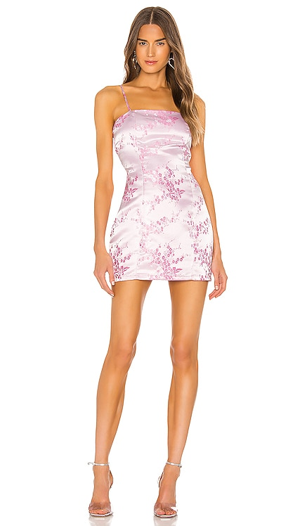 Letizia Printed Mini Dress superdown $82 BEST SELLER