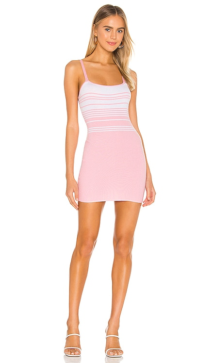 ROBE EN MAILLE RAYÉE SUSIE superdown $58 BEST SELLER