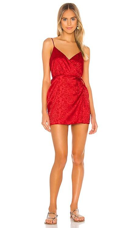 Lamiae Wrap Dress superdown $68 NEW