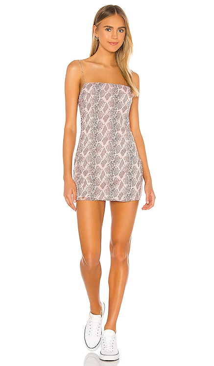 Becca Square Neck Dress superdown $64 NEW