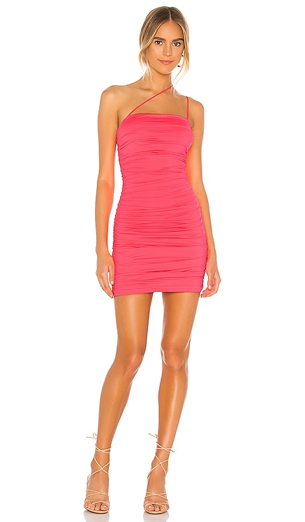 Sierra Ruched Mini Dress superdown $66 NEW