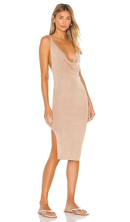 Sabrina Knit Midi Dress superdown $66 BEST SELLER