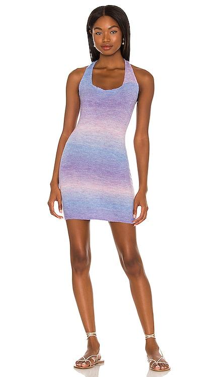 Kayla Halter Dress superdown $68