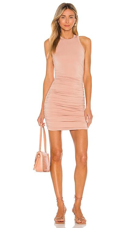Yvette Ruched Dress superdown $58 BEST SELLER
