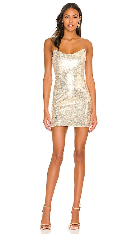 Stevie Sweetheart Mini Dress superdown $66 NEW