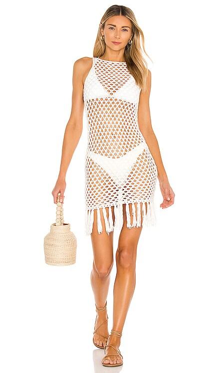 x REVOLVE Bri Crochet Mini Dress superdown $44 NEW