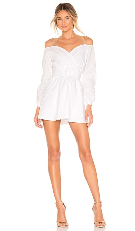Leia Off Shoulder Dress superdown $68