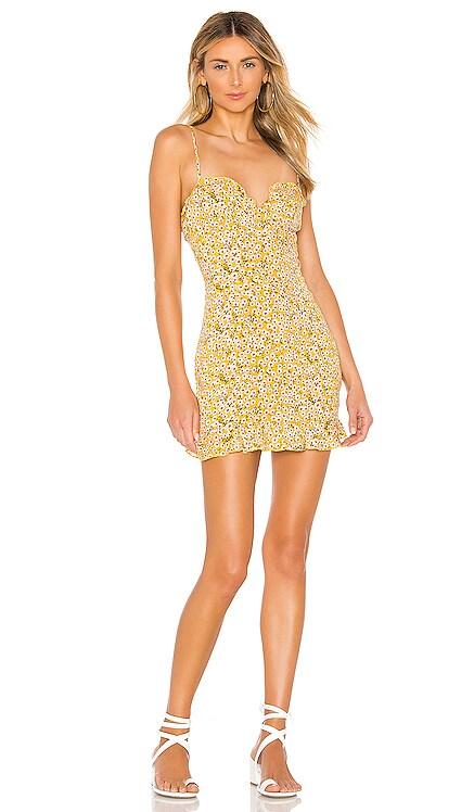 AJ Ruffle Cami Dress superdown $64 BEST SELLER