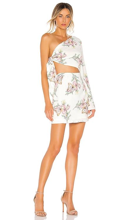 Essie One Shoulder Dress superdown $68 BEST SELLER