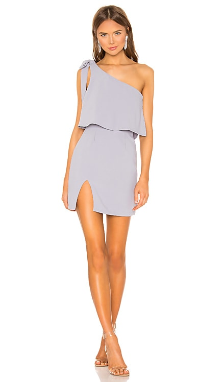 Jenna One Shoulder Dress superdown $66