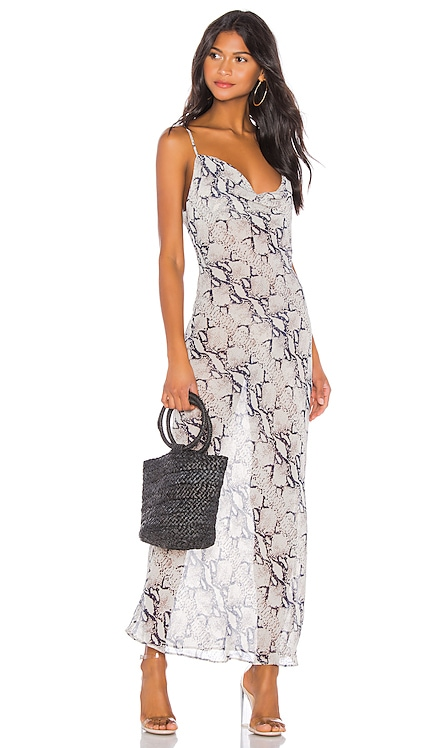 Dina Draped Maxi Dress superdown $82