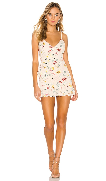 Gianni Ruffle Mini Dress superdown $64 BEST SELLER