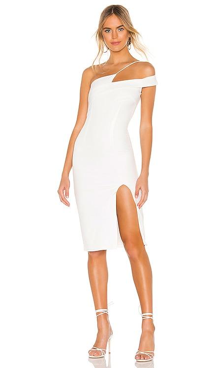 Jillian Asymmetric Midi Dress superdown $88 BEST SELLER