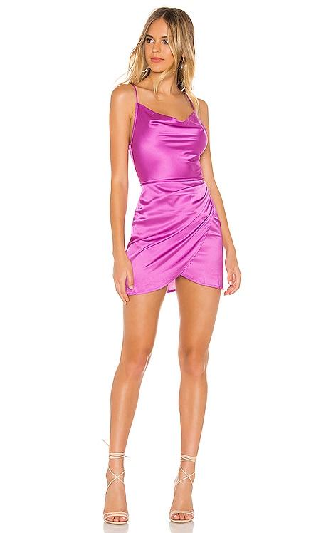 Arezo Cowl Wrap Dress superdown $68 BEST SELLER