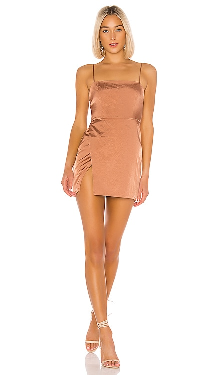 Gianna Slit Mini Dress superdown $68 BEST SELLER