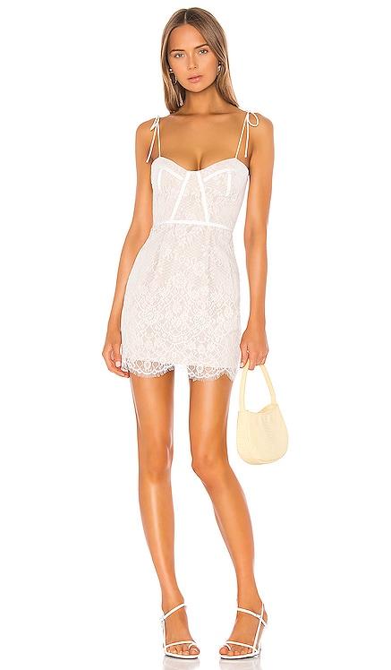 Lottie Lace Bustier Dress superdown $88 BEST SELLER