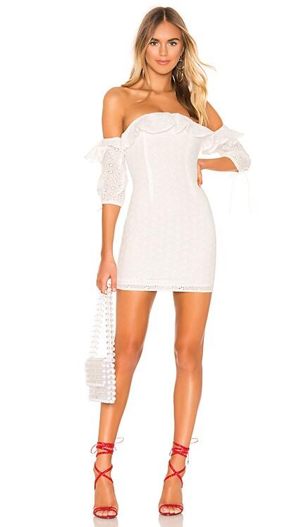 Martina Ruffle Dress superdown $70 BEST SELLER