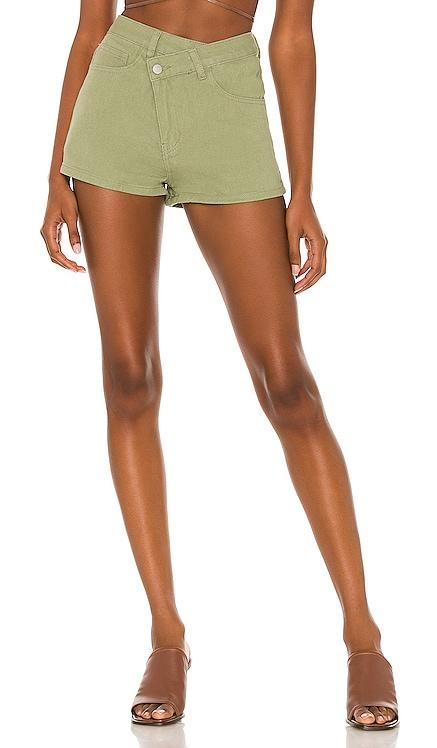 Rylan Asymmetrical Shorts superdown $62