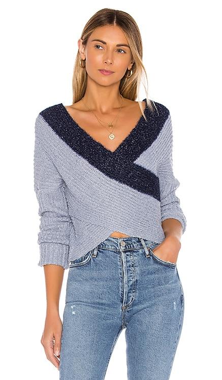 Lanah Wrap Sweater superdown $56 BEST SELLER