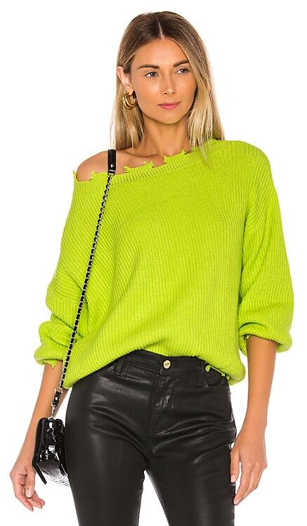 Clara Off Shoulder Sweater superdown $58
