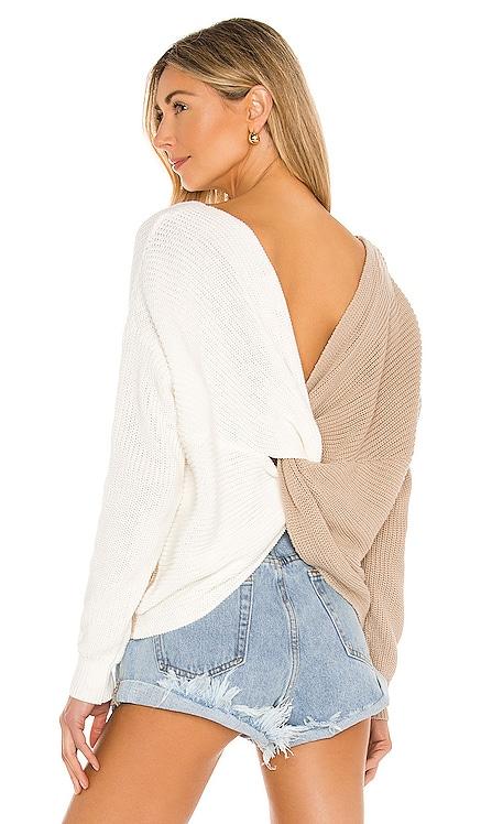 Trish Knot Sweater superdown $68