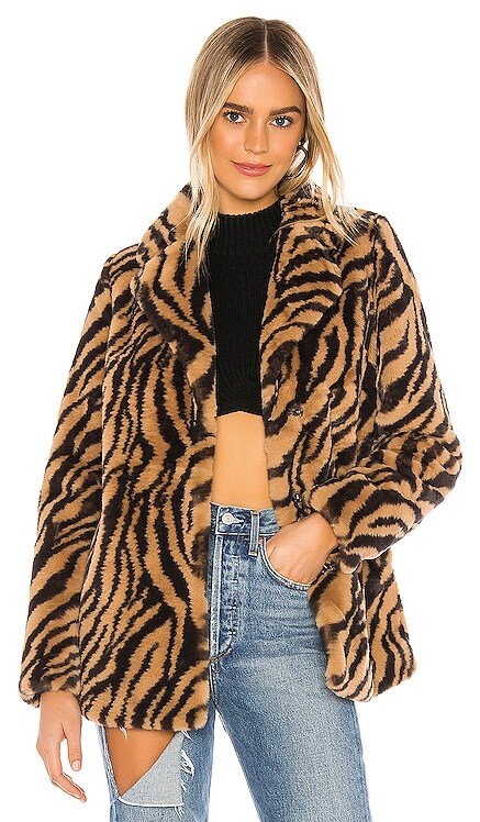 Tamara Faux Fur Jacket superdown $118