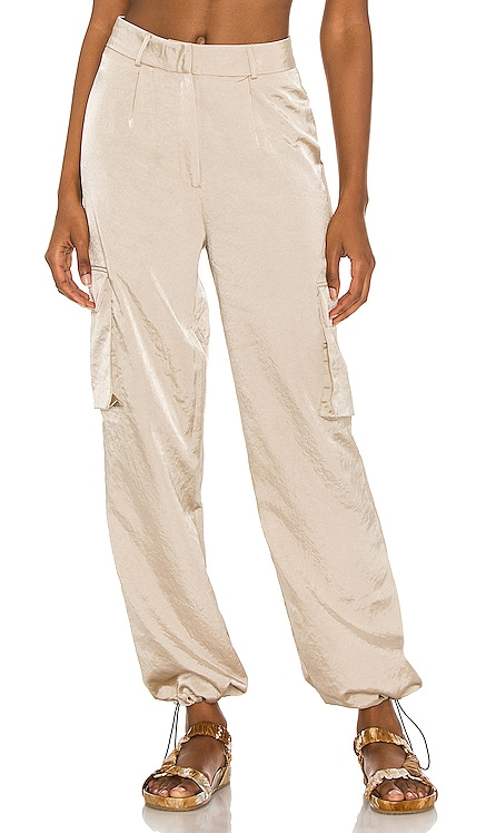 Seleste Drawstring Jogger Pant superdown $62 NEW