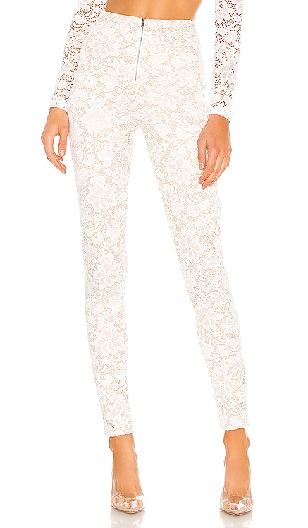 Justene Sheer Lace Pant superdown $64 NEW ARRIVAL