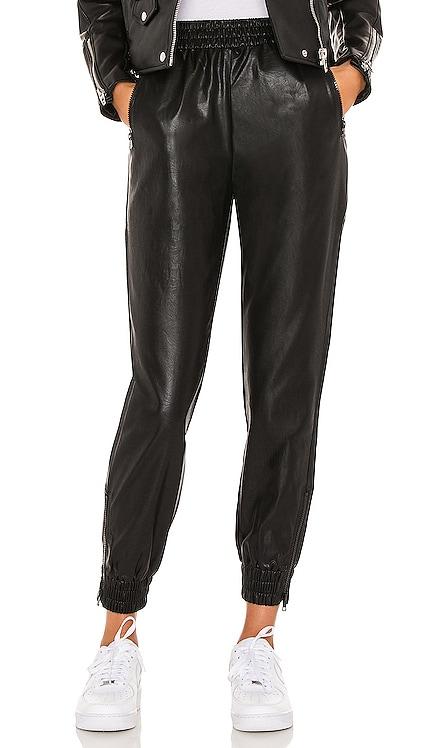 Rinah Leather Jogger Pant superdown $92 BEST SELLER