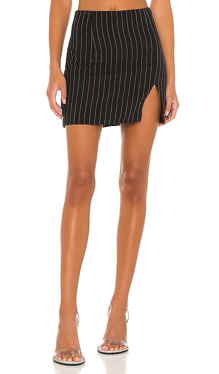 Stefanie Pinstripe Skirt superdown $48 NEW