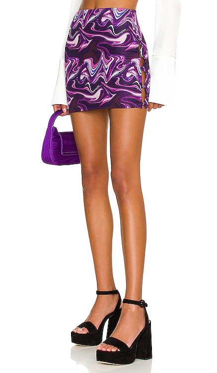 Emani Mini Skirt superdown $48 NEW