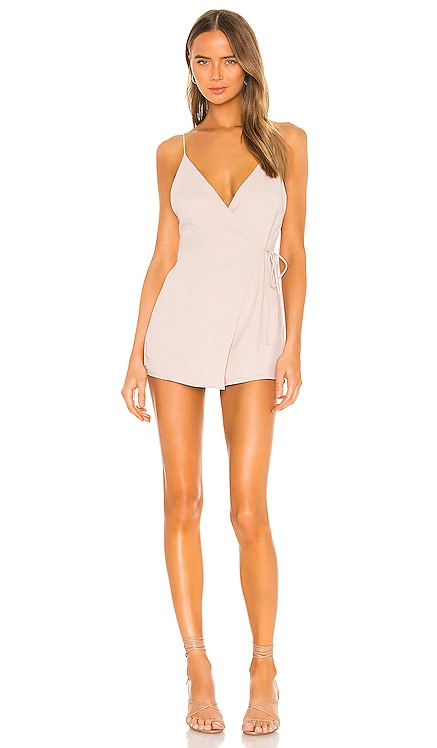 Jordin Wrap Romper superdown $53
