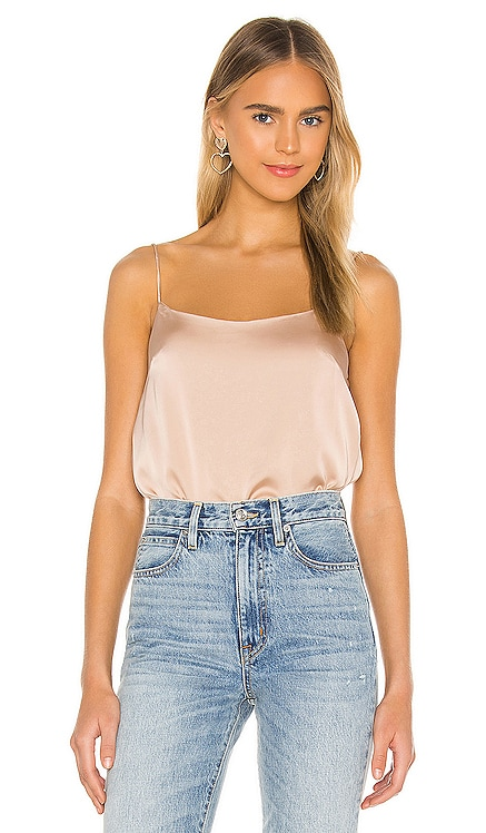 Mischa Cowl Back Top superdown $46