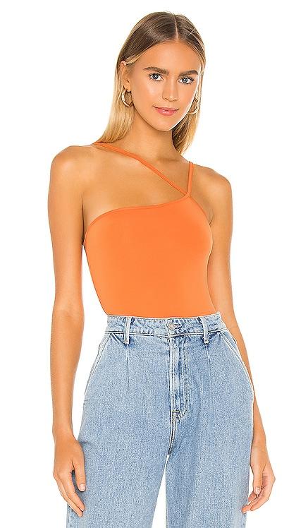 Taryn Asymmetric Bodysuit superdown $50