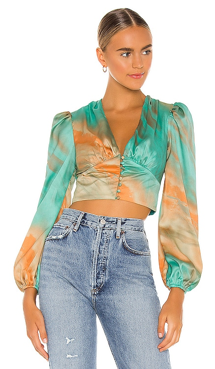 Eleen Blouson Top superdown $52