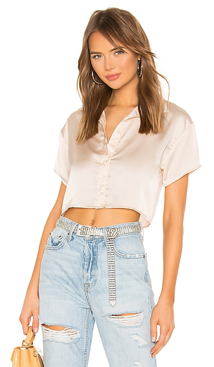 Miriam Button Up Top superdown $48