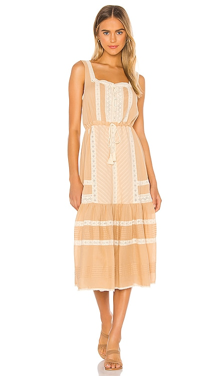Cinder Midi Dress Spell & The Gypsy Collective $289 NEW