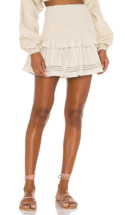 Lola Ruched Mini Skirt Spell & The Gypsy Collective $77