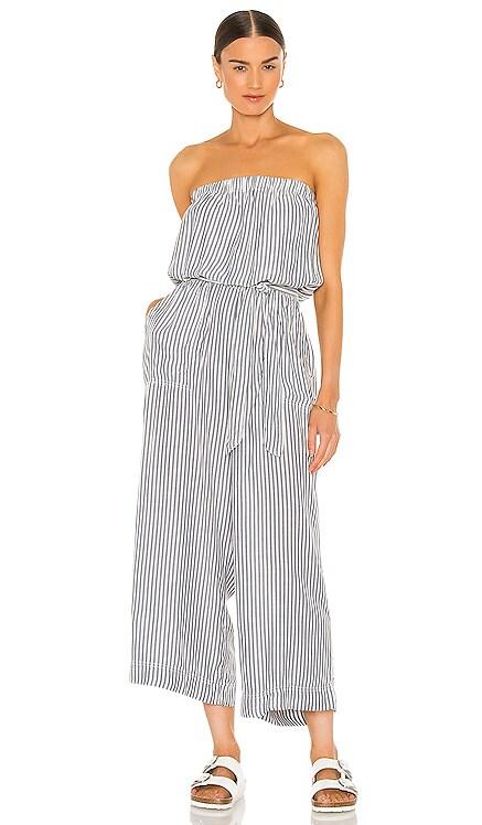 Avenue Stripe Jumpsuit Splendid $188 NEW