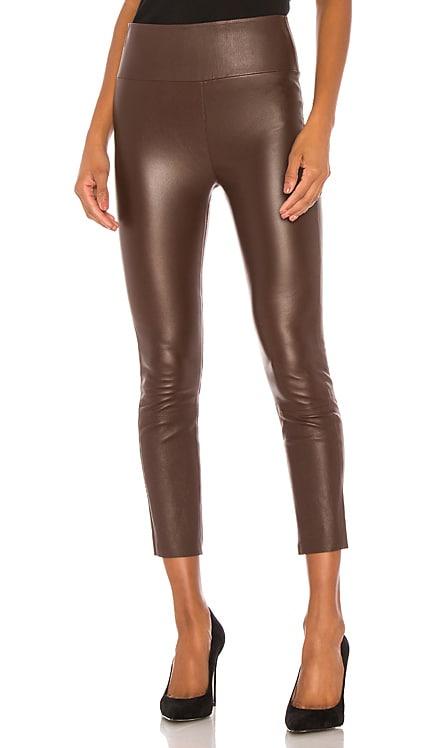 High Waist 3/4 Leather Legging SPRWMN $850