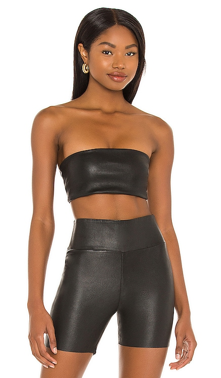 Leather Bandeau Top SPRWMN $365 NEW