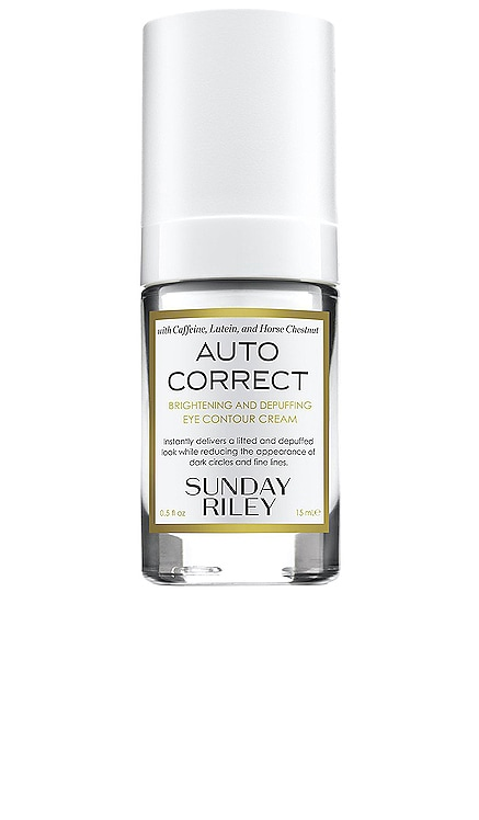 Auto Correct Brightening and Depuffing Eye Contour Cream Sunday Riley $65