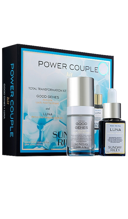 Power Couple Duo Total Transformation Kit Sunday Riley $82