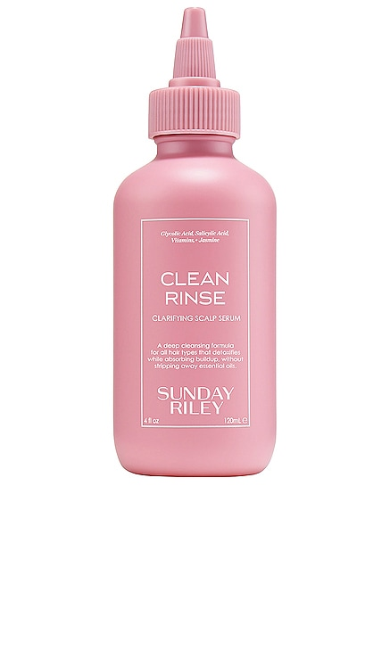 Clean Rinse Clarifying Scalp Serum Sunday Riley $48 NEW