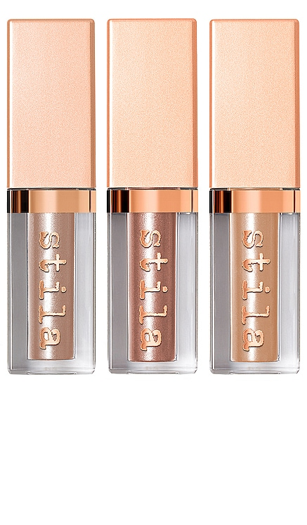Shimmer Up! Shimmer & Glow Liquid Eye Shadow Set Stila $25